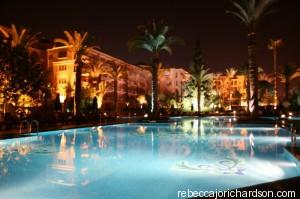 sofitel pool marrakech