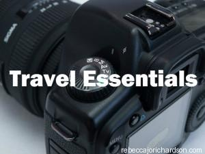 travel essentials camera