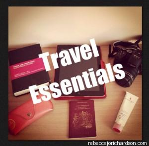 travel essentials blog