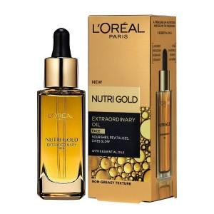 loreal nutri gold extraordinary oil face