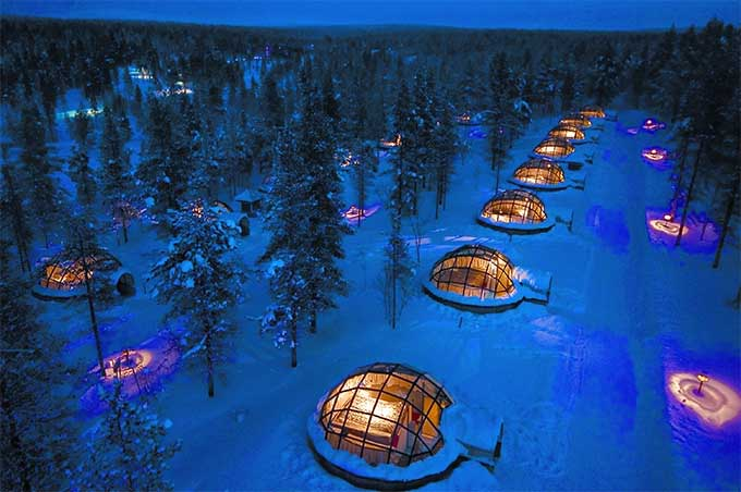 igloo ice hotel lapland
