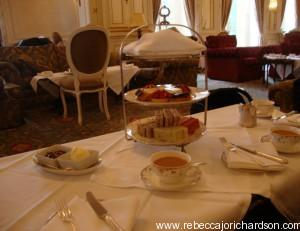 afternoon tea at Luton Hoo