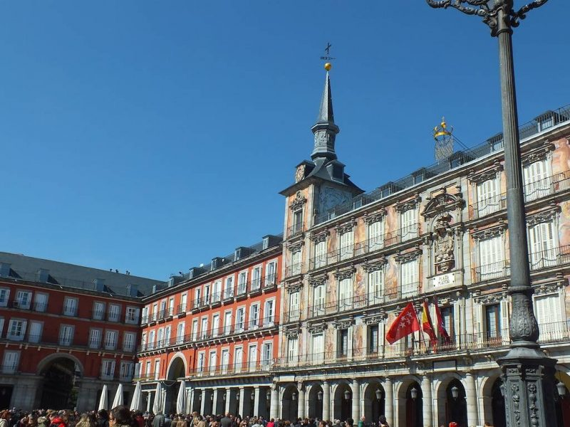 free Madrid walking tour