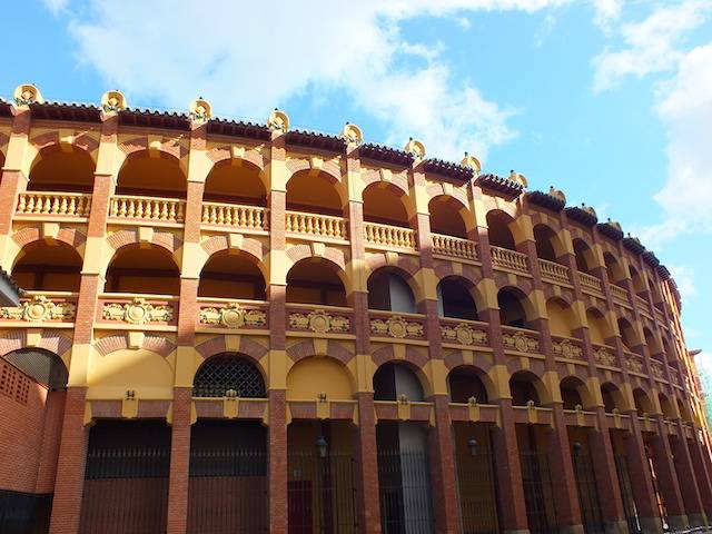bull fighting ring zaragoza