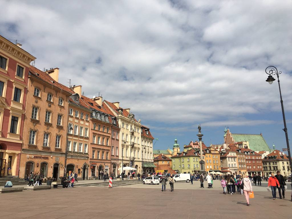 old town warsaw castle square