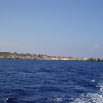 view from boat cyprus