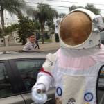 ticket seller space man dominicana