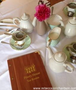 priory house afternoon tea